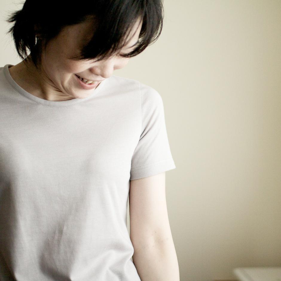 FAB #032 30番手細糸の天竺ニットTシャツ