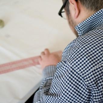 うなぎの寝床さんの「現代風もんぺの型紙」でパンツをつくってみる