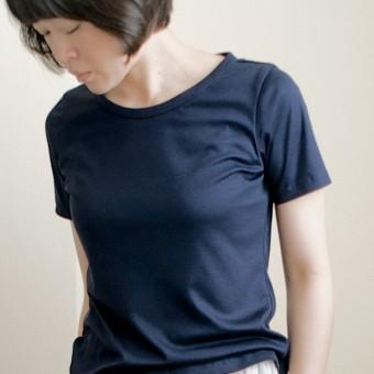 FAB #065 コットン&モダール×スムースニットのTシャツ