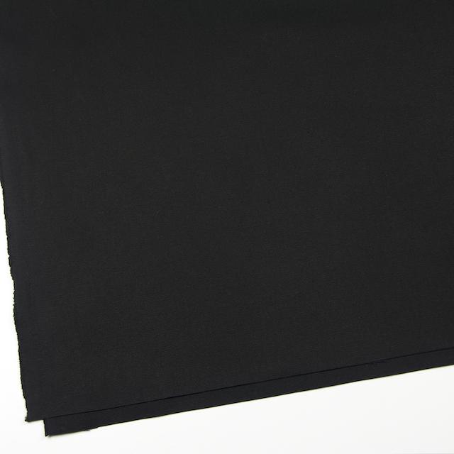コットン×無地(ブラック)×キャンバス