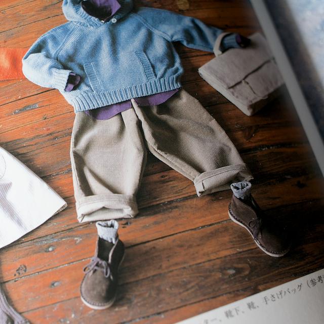 今日のコレコレ。#014 2〜3歳のパンツ(「小さくてもきちんとした服」 尾方裕司 著)