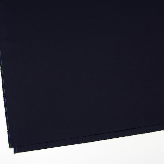 コットン×無地(ブラック)×シャンブレーギャバジン