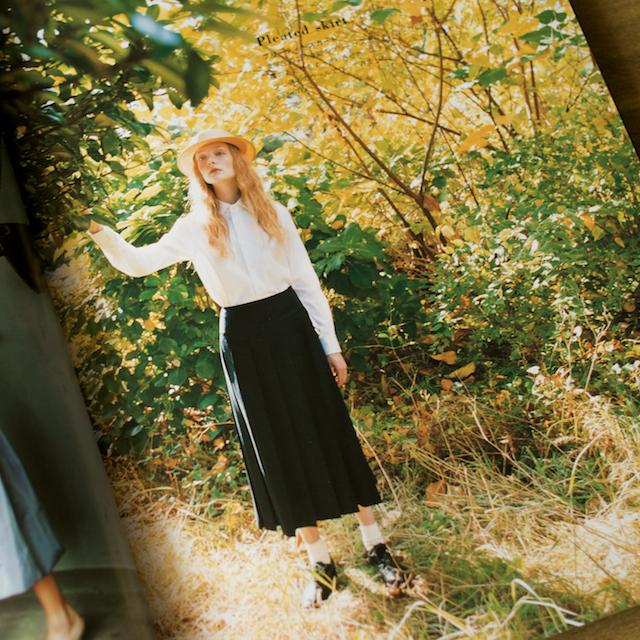 今日のコレコレ。#030 プリーティドスカート(「オーダーメイドスカート―skirt入門」水野佳子 著)