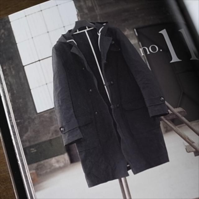 今日のコレコレ。#032 キャンバスのダッフルコート(「男のコートの本」 嶋﨑隆一郎 著)