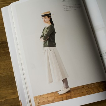 今日のコレコレ。#054 ラウンドポケットスカート(「シンプルシック」 大川友美 著)