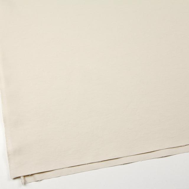 コットン×無地(アイボリー)×オックスフォード_全2色