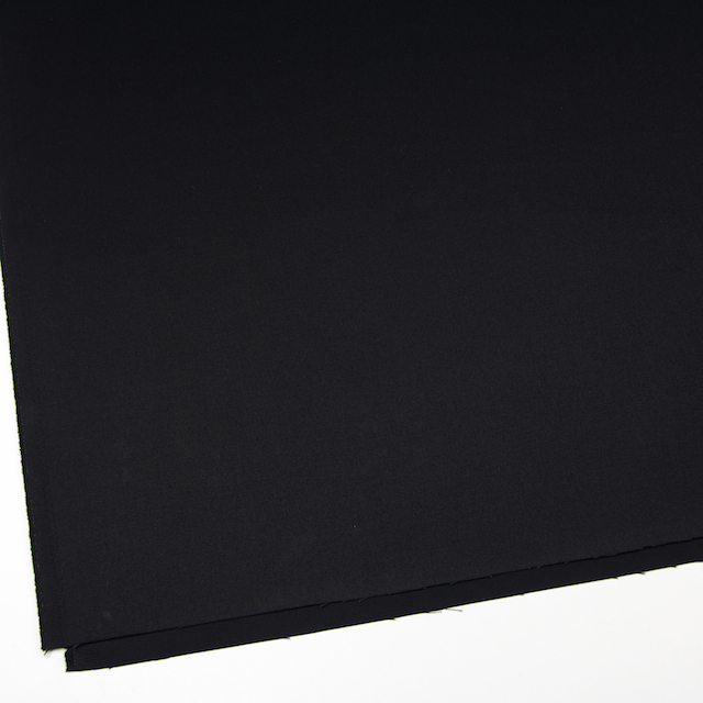 コットン×無地(ブラック)×チノクロス_全5色