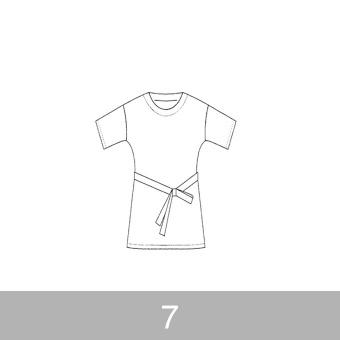 オリジナルパターン#006_オーバーチュニック_7号 サムネイル1