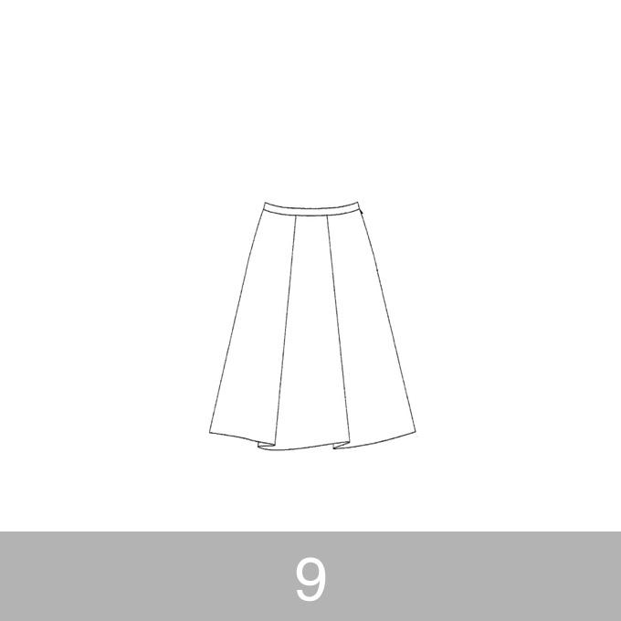 オリジナルパターン#007_タックスカート_9号 イメージ1