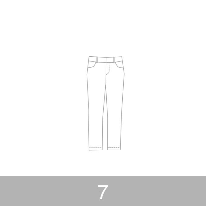 オリジナルパターン#010_クロップドパンツ_7号 イメージ1