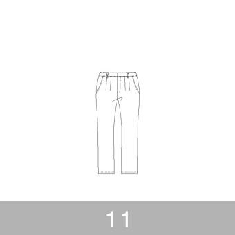 オリジナルパターン#012_テーパードパンツ_11号 サムネイル1