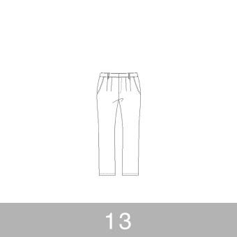 オリジナルパターン#012_テーパードパンツ_13号