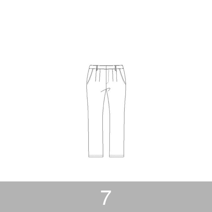 オリジナルパターン#012_テーパードパンツ_7号 イメージ1