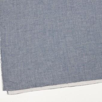 コットン×無地(ブルー)×かわり織&ガーゼ サムネイル2