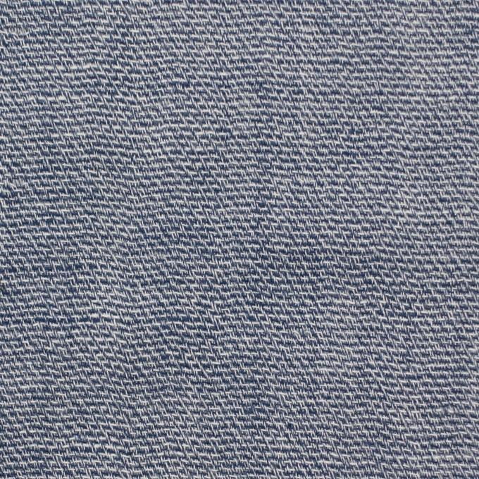 コットン×無地(ブルー)×かわり織&ガーゼ イメージ1