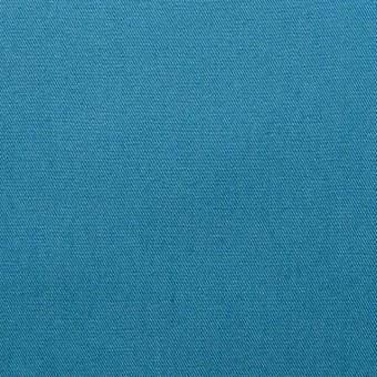 ポリエステル&コットン×無地(ターコイズブルー)×ギャバジン_全4色