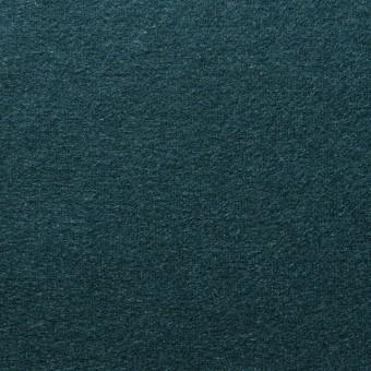 ウール×無地(ダークグリーン)×圧縮天竺ニット_全2色