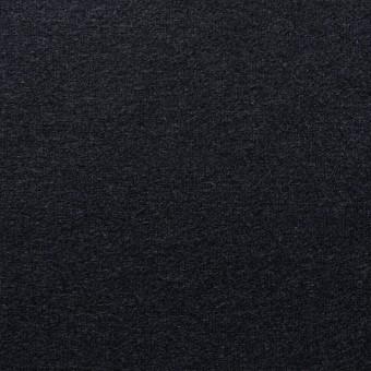 ウール×無地(ブラック)×圧縮天竺ニット_全2色