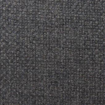 ウール×無地(チャコールグレー)×かわり織