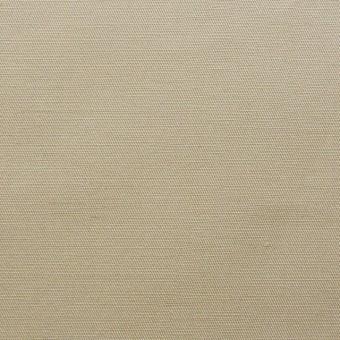 コットン&リネン×無地(ベージュ)×ギャバジン_全3色