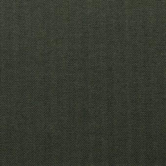 コットン×無地(カーキグリーン)×ヘリンボーン_全5色