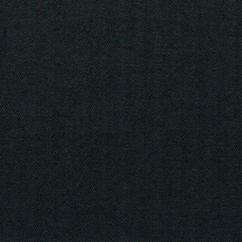 コットン×無地(ブラック)×ヘリンボーン_全5色