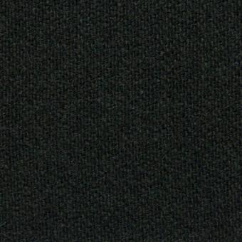 ウール×無地(チャコールグレー)×二重織