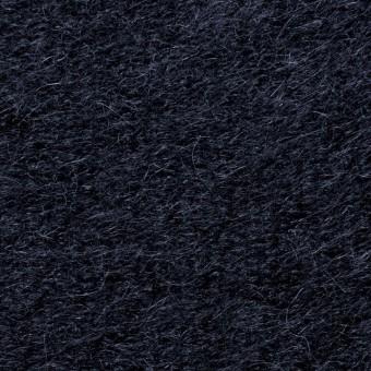 ナイロン&ウール×無地(ネイビー)×シャギーニット_全2色_イタリア製