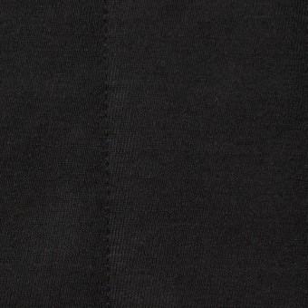ポリエステル&レーヨン×無地(ブラック)×ニットキルティング_全3色