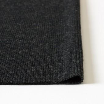 ウール×無地(チャコールグレー)×リブ編みニット_全2色 サムネイル3