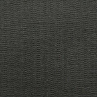 コットン×無地(ダークカーキ)×ヘリンボーン_全2色