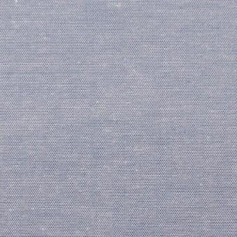 コットン×無地(サックスブルー)×薄ダンガリー