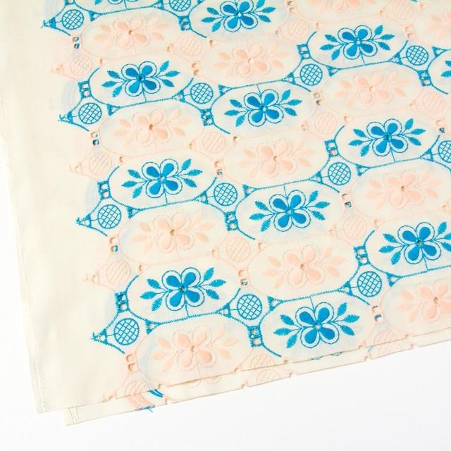 コットン×フラワー(キナリ)×ローン刺繍_全2色 イメージ2