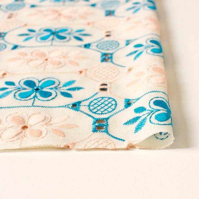 コットン×フラワー(キナリ)×ローン刺繍_全2色 イメージ3