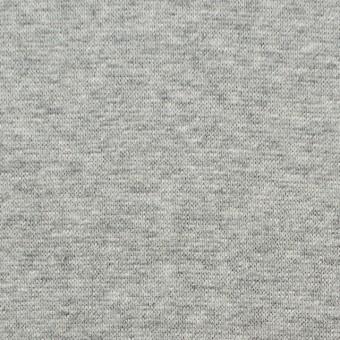 コットン×無地(ライトグレー)×スムースニット