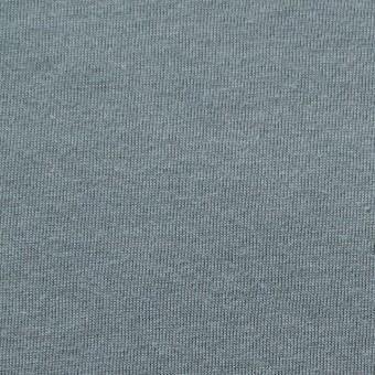 コットン&モダール×無地(スモークグレー)×天竺ニット_全5色