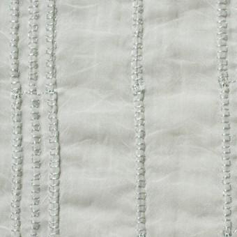 ナイロン&コットン×無地(シャーベットグリーン)×ボイル&ガーゼ_全3色
