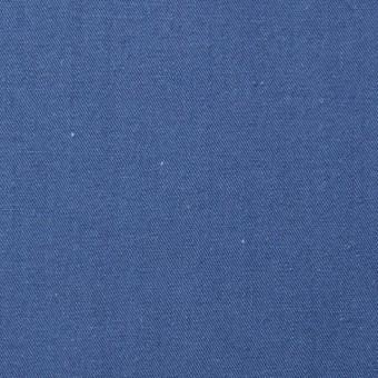 コットン×無地(ブルー)×ギャバジン_全2色