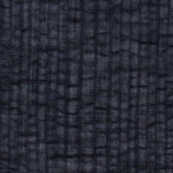 コットン×ストライプ(ブラック)×ボイルサッカー_全2色