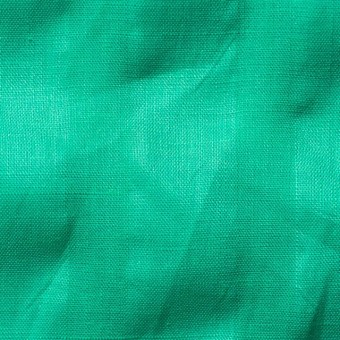 リネン×無地(エメラルドグリーン)×サッカー_全2色