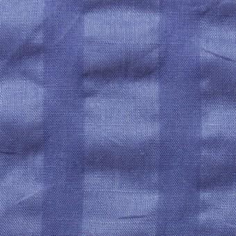 リネン×無地(オリエンタルブルー)×サッカー_全2色