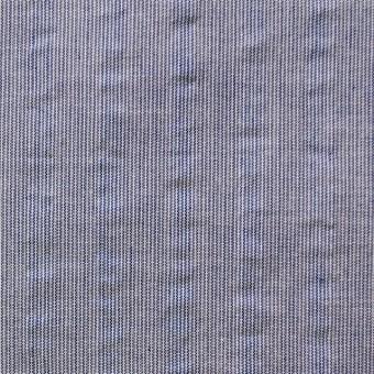 コットン&ポリエステル×ストライプ(ネイビー)×サッカー_全2色
