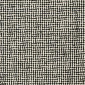 コットン×チェック(ブラック)×千鳥格子_全2色