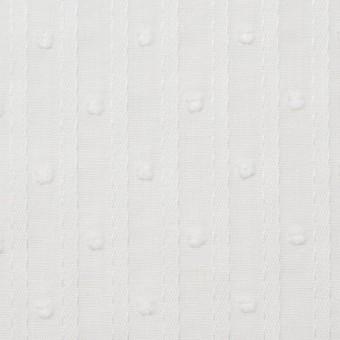 コットン×ドット(オフホワイト)×ボイルジャガード_全3色