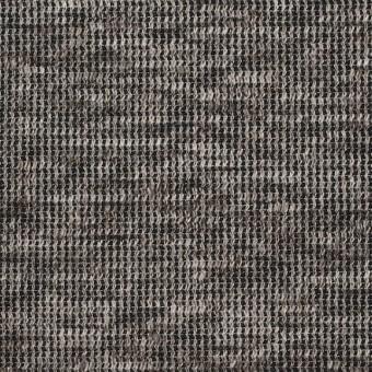 リネン&コットン×ミックス(ブラウン)×スムースニット_全2色