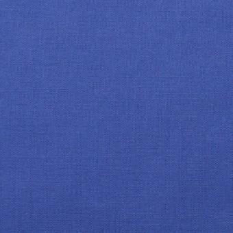 コットン×無地(ロイヤルブルー)×ボイル_全4色