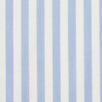 コットン×ストライプ(サックス)×ブロード_全5色