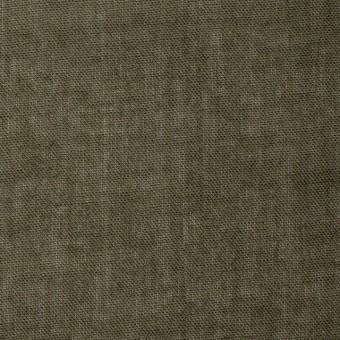 コットン×無地(カーキグリーン)×ガーゼ_全4色