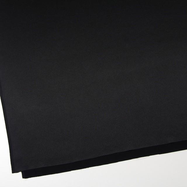 シルク×無地(ブラック)×サテン イメージ2