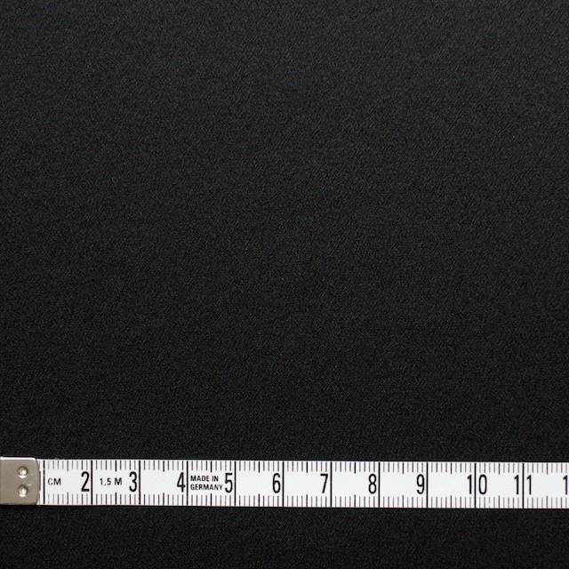 シルク×無地(ブラック)×サテン イメージ4